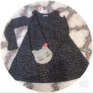 Other - ⭐️ Adorable dress with kitty purse⭐️